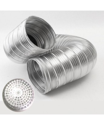 6 inch Aluminum Flexible Ducting Pipe With End Cap